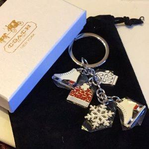 NWT Coach Key Chain Hard To Find Nice Gift